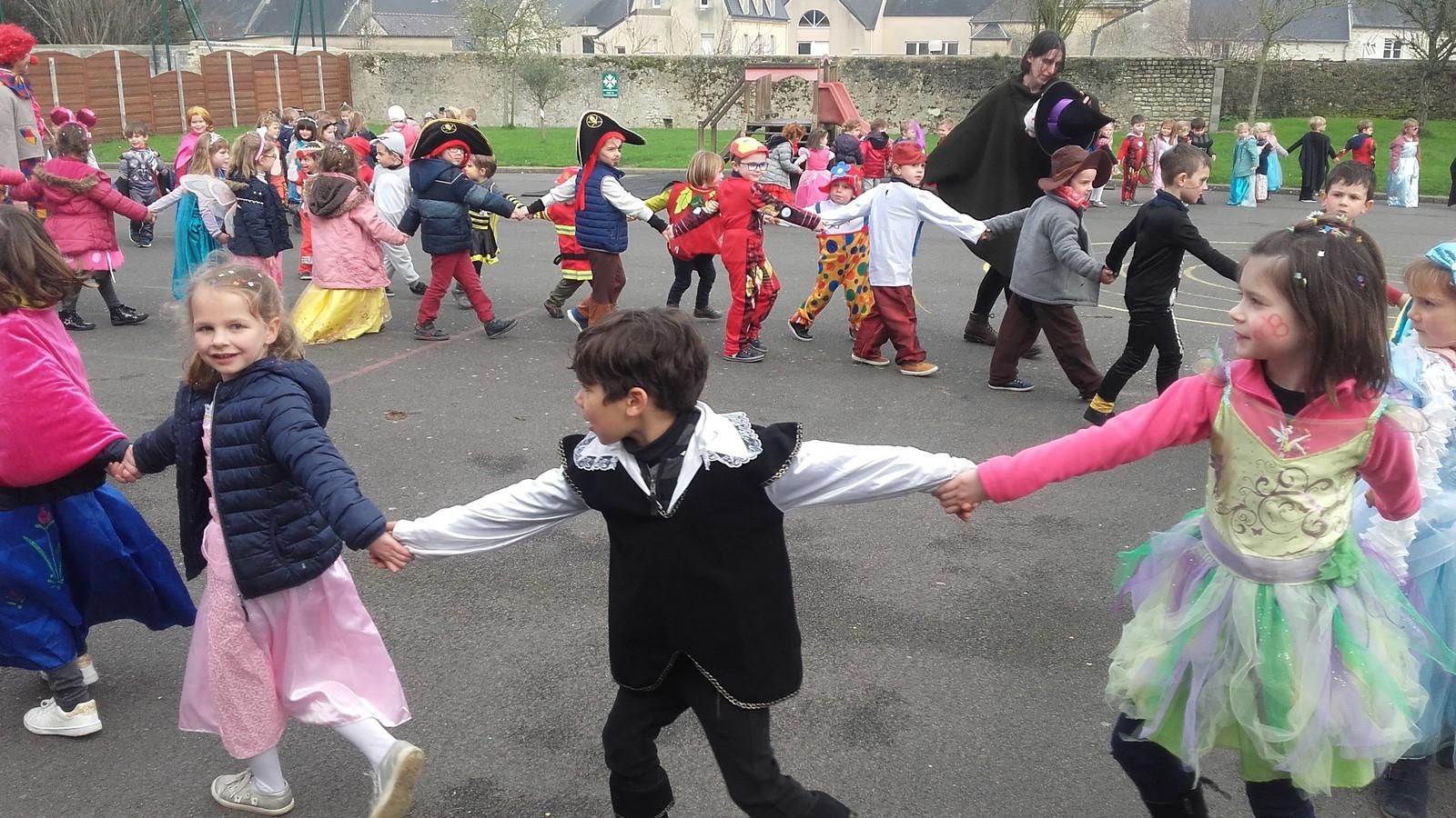 Le carnaval: défilé et danses