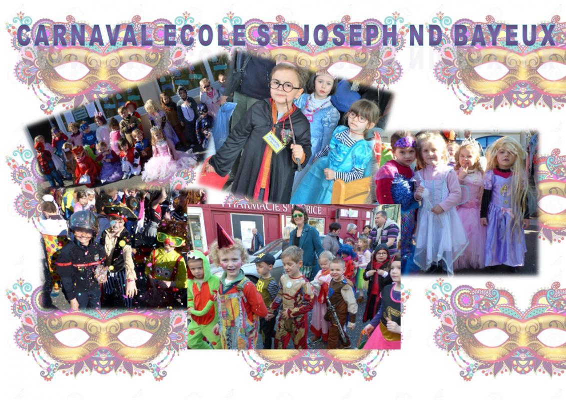 Affiche photos carnaval
