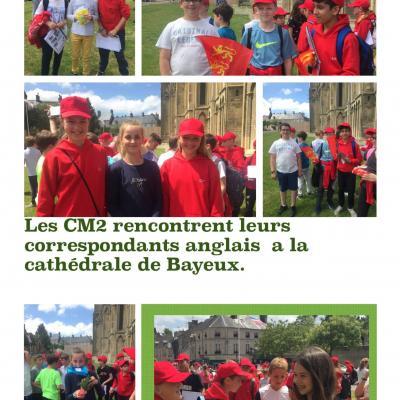 Cm2 correspondants anglais 1