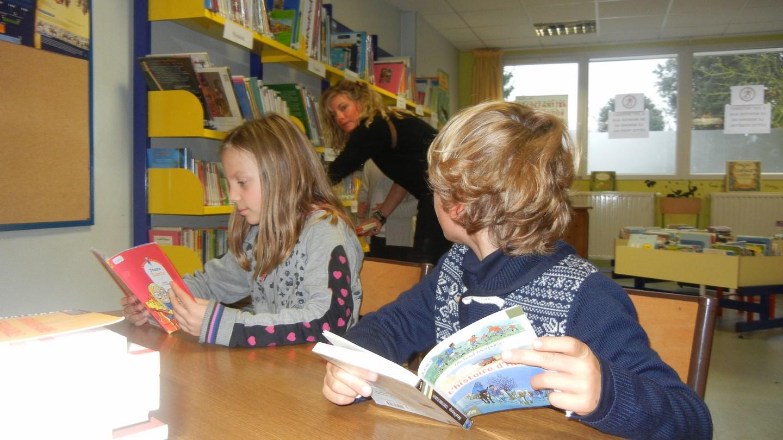 La bibliothèque de l'école
