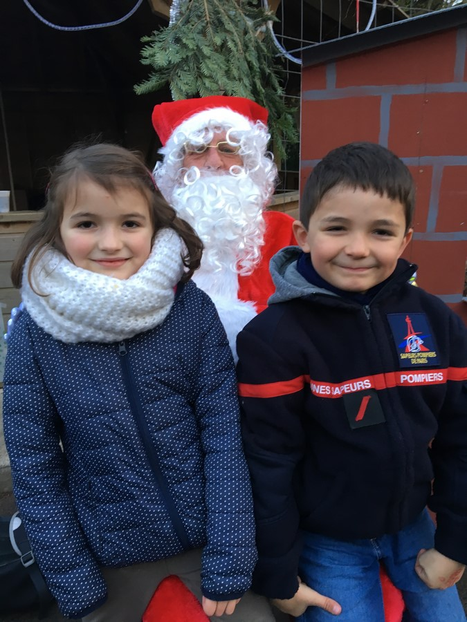 photo avec le Père Noël